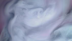 Nuvem branca da pintura que pulveriza em um fundo do abctraction vídeos de arquivo
