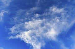 A nuvem branca no céu azul Imagem de Stock Royalty Free