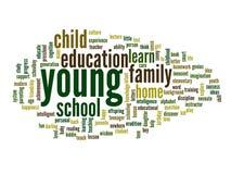 Nuvem conceptual da palavra da educação Imagem de Stock