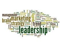Nuvem conceptual da palavra do negócio Foto de Stock