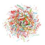 Nuvem da compra para seu projeto Imagens de Stock