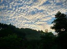 Nuvem da convolução fotos de stock