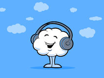 Nuvem da música Imagem de Stock Royalty Free