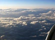 Nuvem da manhã Fotografia de Stock