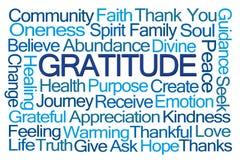 Nuvem da palavra da gratitude