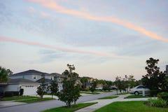 Nuvem da paralela de Florida Imagens de Stock Royalty Free