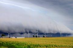 Nuvem da prateleira em Illinois Fotografia de Stock Royalty Free