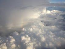 Nuvem da terra Foto de Stock