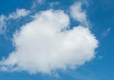 Nuvem dada forma cervo fotografia de stock