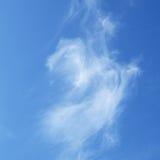 Nuvem dada forma coração Imagem de Stock Royalty Free