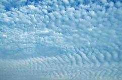 Nuvem de Altocumulus Fotografia de Stock Royalty Free