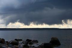 Nuvem de ameaça Fotografia de Stock Royalty Free