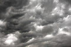 Nuvem de chuva Fotografia de Stock Royalty Free
