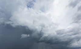 Nuvem de chuva Fotografia de Stock