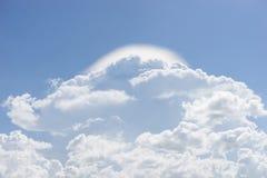 Nuvem de chuva Imagem de Stock