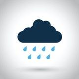 Nuvem de chuva ilustração do vetor