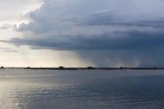 Nuvem de chuveiro da chuva Imagem de Stock