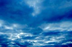 Nuvem de Strom Fotografia de Stock Royalty Free