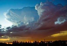 Nuvem de tempestade Fotografia de Stock Royalty Free