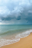 Nuvem de tempestade o mar Fotografia de Stock