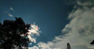 Nuvem do arco-íris foto de stock