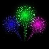 A nuvem do brilho do ouro ou a explosão de brilho das partículas estouraram o efeito dourado luxuoso da textura dos sparkles no p ilustração do vetor