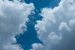 nuvem do céu Fotografia de Stock