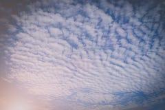 Nuvem do céu azul Fotos de Stock Royalty Free