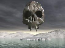 Nuvem do CO2 ilustração royalty free