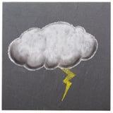 Nuvem do temporal Fotografia de Stock Royalty Free