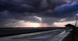 Nuvem dramática Foto de Stock Royalty Free