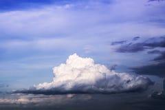 Nuvem e atmosférico macios fotografia de stock