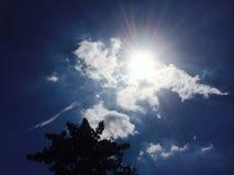 Nuvem e céu Imagens de Stock Royalty Free