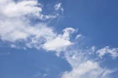Nuvem e céu Fotografia de Stock