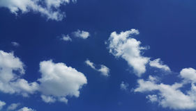Nuvem e céu azul Foto de Stock Royalty Free