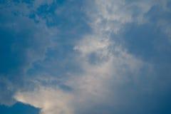 Nuvem e céu macios Fotografia de Stock