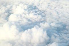 Nuvem e céu macios brancos Imagens de Stock