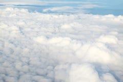 Nuvem e céu macios brancos Foto de Stock Royalty Free