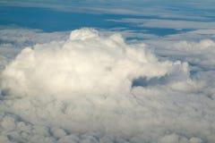 Nuvem e céu macios brancos Foto de Stock
