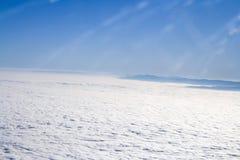 Nuvem e montagem Foto de Stock Royalty Free