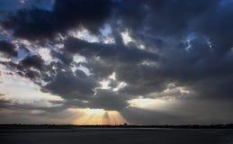 Nuvem escura Imagens de Stock