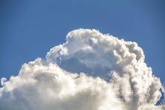 Nuvem escura Fotografia de Stock