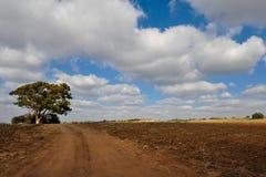 Nuvem-estradas Imagens de Stock Royalty Free