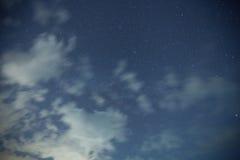 Nuvem, estrela fotos de stock