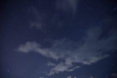 Nuvem, estrela, MilkyWay foto de stock royalty free