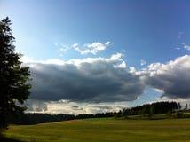 Nuvem grande Foto de Stock