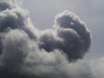 Nuvem grande no céu Fotografia de Stock Royalty Free
