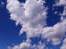 Nuvem Heart-shaped fotografia de stock