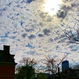 Nuvem pesada Imagens de Stock Royalty Free