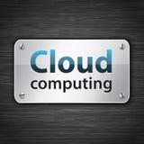 Tabuleta de computação da nuvem Fotos de Stock Royalty Free